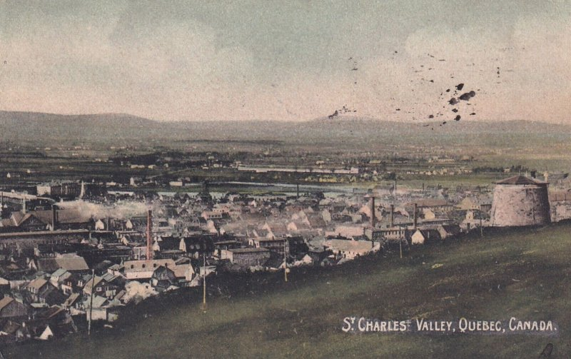 QUEBEC, Canada, PU-1914; St. Charles Valley
