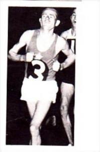 Brooke Bond Trade Card Olympic Greats No 2 Emil Zatopek Czechoslovakia