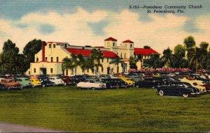 Florida Saint Petersburg Pasadena Community Church Curteich