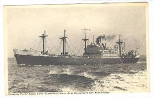 Canadian Pacific Cargo Liner Beaverford : Sister Ships Beaverburn & Beaverlod...