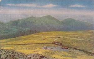New Hampshire White Mountains Mountain Washington Cog Railway And Northern Pe...