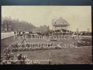 Morecambe New West End Gardens & Bandstand c1912