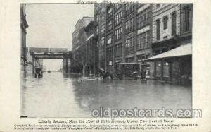 Flood, Liberty Ave., Allegheny County, Penn. Pennsylvania, USADisaster Disast...