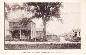 Thompson St., Trumbull Beach, Milford, Conn