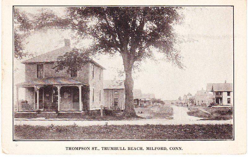 Thompson St., Trumbull Beach, Milford, Conn