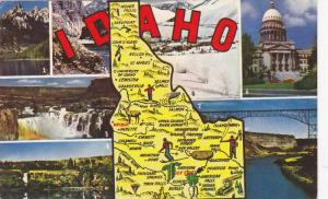 Scenic Greetings from Idaho, 40-60s
