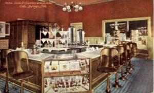 Lunch Counter Colorado Springs, CO, USA Postcard Post Cards Old Vintage Antiq...