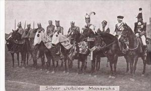 England London Silver Jubilee Monarchs