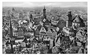 Frankfurt am Main Domblick zum Roemer und Paulskirche Church Cathedral