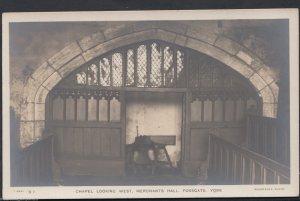 Yorkshire Postcard - Chapel Looking West, Merchants Hall, Fossgate, York  RT700