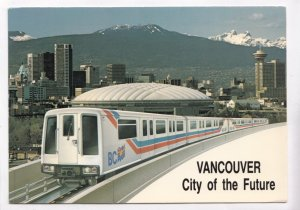 VANCOUVER, City of the Future, British Columbia, Canada, Light Rail Transit