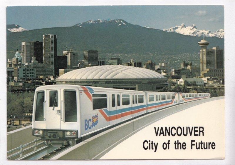 VANCOUVER, City of the Future, British Columbia, Canada, Light Rail Transit