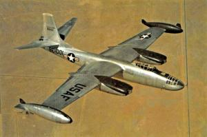 CB14 NORTH AMERICAN B-45C TORNADO-AMERICA'S FIRST 4 JET BOMBER POSTCARD
