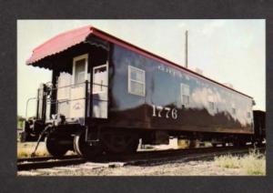 WI Green Bay & Western Railroad Train Car WISCONSIN RR