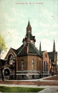 Pennsylvania Pittston Methodist Episcopal Church 1910