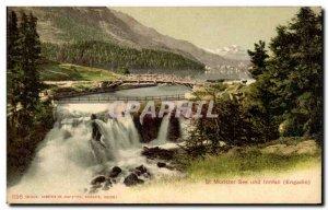 Postcard Old St Moritzer See Und Inntall