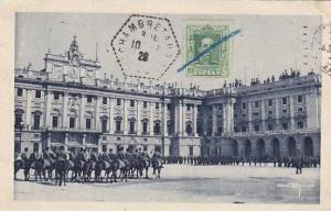 Spain Madrid Plaza de la Armeria 1929