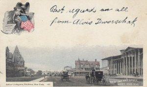 WEST END , New Jersey, 1906 ; Street & Annex