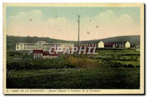 VINTAGE POSTCARD Camp Courtine New Hospital and Army Cavalry Barracks of the