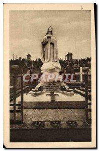 Postcard Old high Monument to the Cemetery of the Carmelites of Lisieux