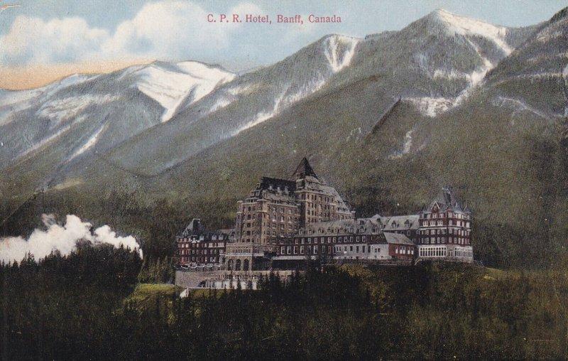 BANFF, Alberta, Canada, 1900-1910s; C.P.R. Hotel