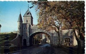 Canada, Le Port St-Louis, Quebec, used Postcard