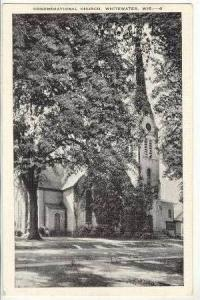 Congregational Church, Whitewater, Wisconsin, 1930-40s