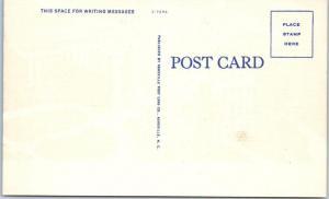 2 Postcards WILSON, NC   Night/Day  WILSON COUNTY COURT HOUSE  ca 1940s Linen