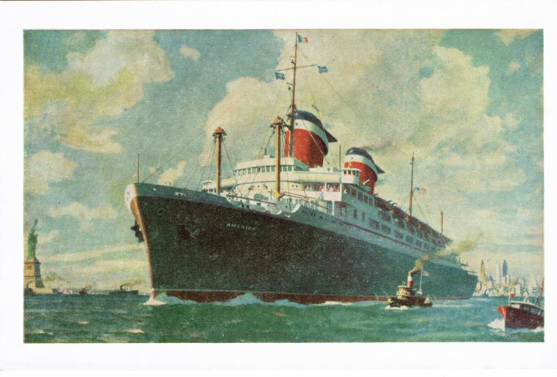SHIPPING S.S. AMERICA