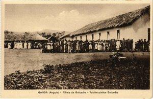 PC CPA ANGOLA / PORTUGAL, GANDA, FILIALE DE BALOMBO, Vintage Postcard (b21650)