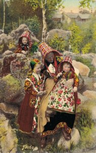 Sweden Floda Traditional Clothing  06.66
