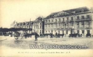 Tours, France, Carte, Postcard le Musee et I'Ecole des Beaux Arts Tours le Mu...
