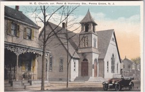 New Jersey Penns Grove M E Church Corner Of Penn & Harmony Streets sk2952