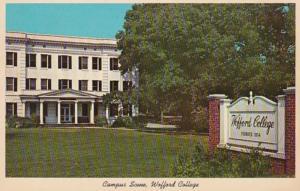 South Carolina Spartanburg Campus Scene Wofford College