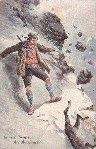 An Avalanche , Tirol , Austria , 00-10s ; TUCK