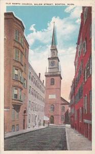 Old North Church Salem Street Boston Massachusetts