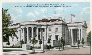 DC - Washington, Continental Memorial Hall, Home of Society of Daughters of t...