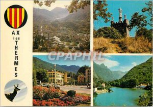 Postcard Modern Ax les Thermes (Ariege) Thermal Station and Winter Sports