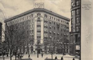 BUFFALO, New York, PU-1908; Lafayette Hotel