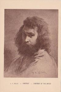 J F Millet Portrait Of The Artist