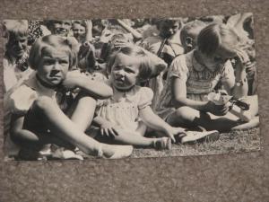 RPPC, Netherland Children, 1948