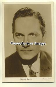b2628 - Film Actor - Fredric March - postcard Film Kurier Series no 47
