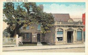 LPS74 Salem Massachusetts Witch House Vintage Postcard