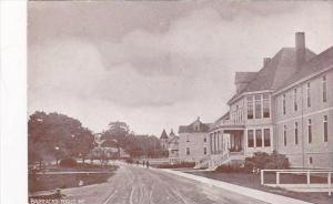Maine Togus Barracks Street Scene