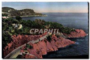Postcard Modern Trayas La Route De Corniche & # 39or Basically the neck of th...