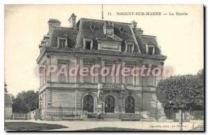 Old Postcard Nogent Sur Marne The Mayor