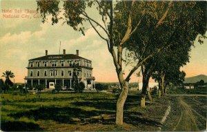 C-1910 Hotel San Miguel National City California Newman Postcard 10356