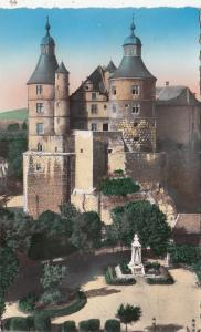 BF27761 montbeliard doubs le chateau   france  front/back image