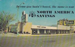 North America Savings, Forest Park, Illinois, 1940-1960s