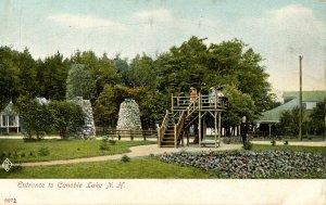 NH - Salem. Canobie Lake Park Entrance circa 1900